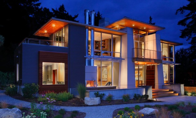 The Olympic View House by BC&J Architecture