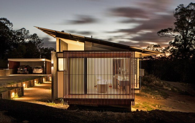 Wallaby Lane House by Robinson Architects