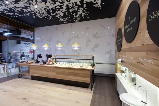 معماری رستوران،طراحی داخلی رستوران،طراحی داخلی مغازه
