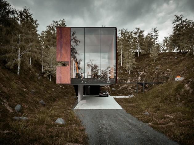 معماری منزل،طراحی داخلی منزل