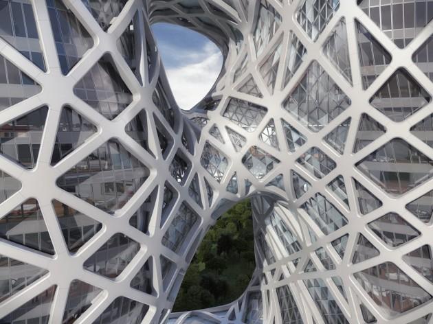 City of Dreams Hotel Tower by Zaha Hadid Architects