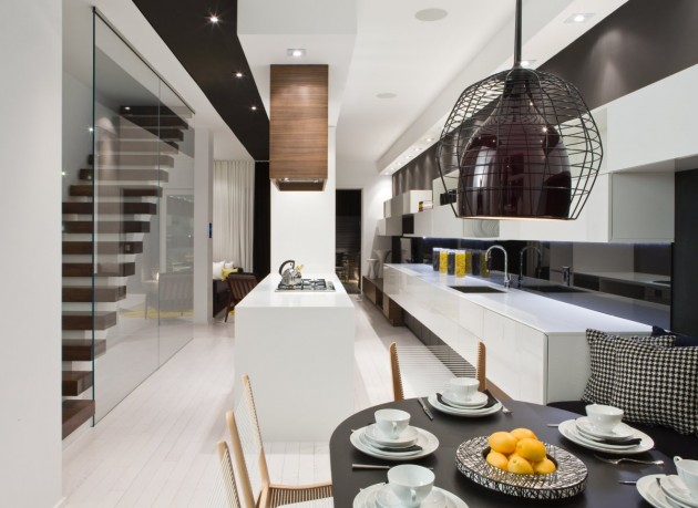 Trinity Bellwoods Townhome Interior by Cecconi Simone