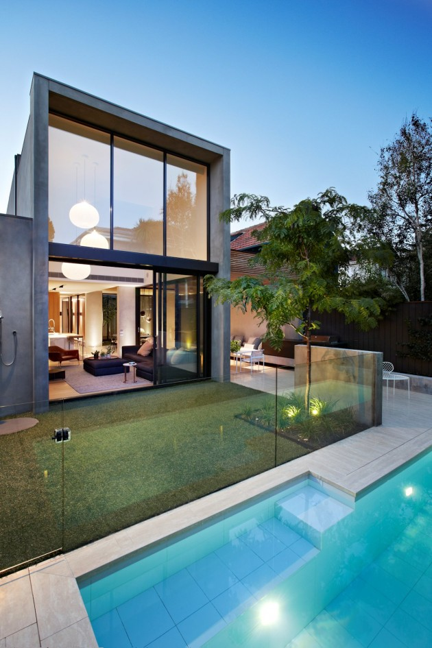 Oban house by agushi contemporist for Home architecture melbourne