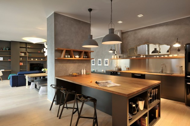 Situla Model Apartment by GAO Architects