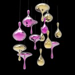 Lava Drops by Tsunami Glassworks and Alvaro Uribe Design