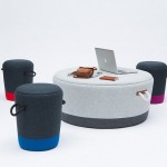 Duffy Stool and Ottoman by Tim Webber Design