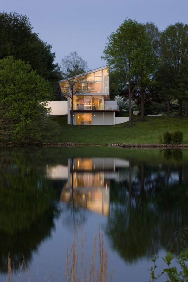 The Buisson Residence by Robert M. Gurney