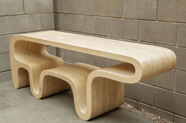 Bear Table by Daniel Lewis Garcia