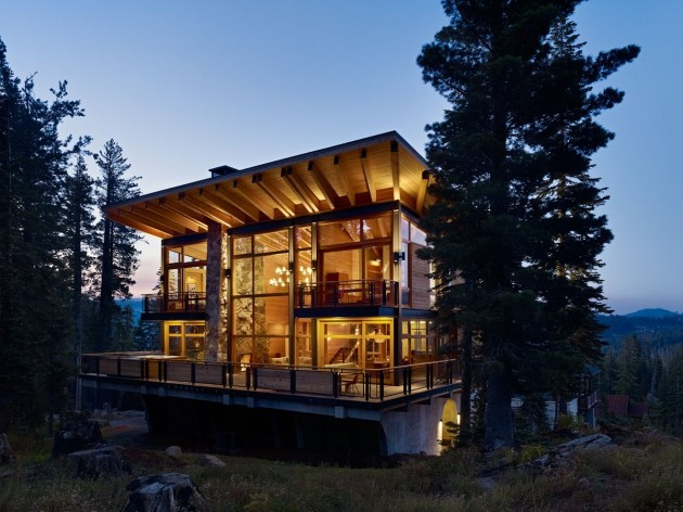 The Crow's Nest Residence by BCV Architects