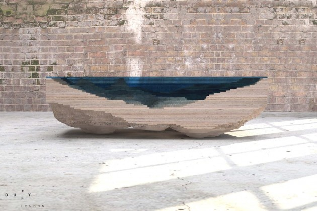 The Abyss Table by Christopher Duffy