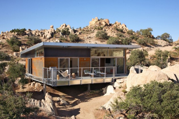 A Home In The Desert by o2 Architecture