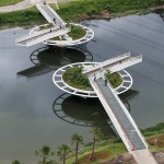 Friedrich Bayer Bridge by LoebCapote Arquitetura