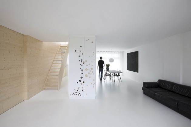 An Amsterdam Apartment Interior by i29 Architects