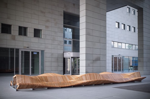 Uiliuili Bench By Piotr Zuraw Contemporist