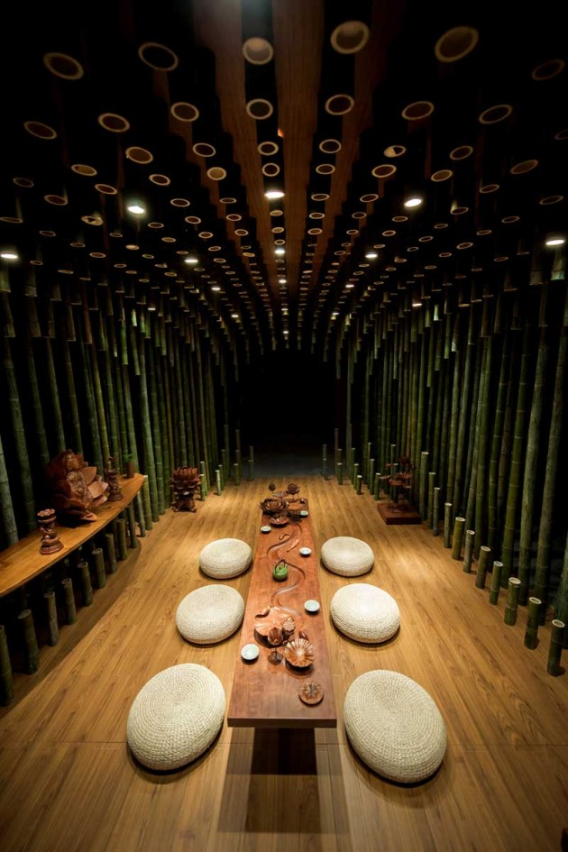 Lotus & Bamboo Tea Room by MINAX | CONTEMPORIST on chinese pagoda design, chinese contemporary design, chinese cave houses, chinese bedroom design, chinese style interior design, food house design, chinese grill design, tea logo design, chinese gazebo design, chinese garden design, ginger house design, chinese greenhouse design, chinese house drawing, cooking house design, chinese wrought iron design, chinese art design, chinese home design, chinese asian design, tea shop design, chinese moon gate design,