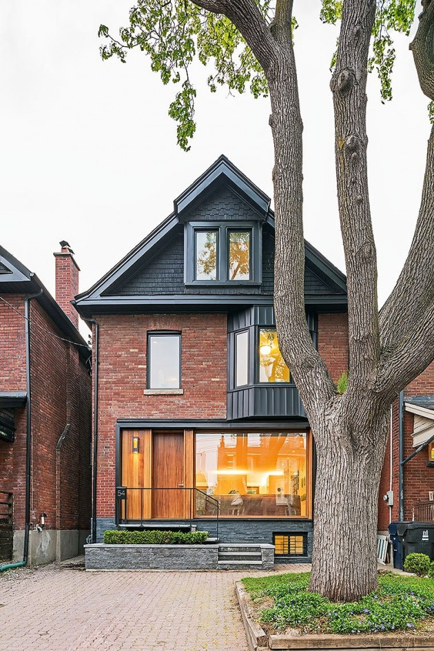 Toronto Infill Home By Jci Architects Contemporist