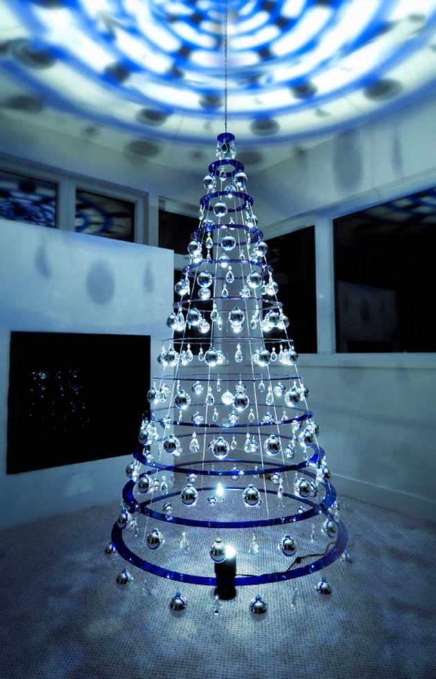 The modern christmas tree by lawrence bud stoecker contemporist from matthew bliss modern christmas tree aloadofball Image collections