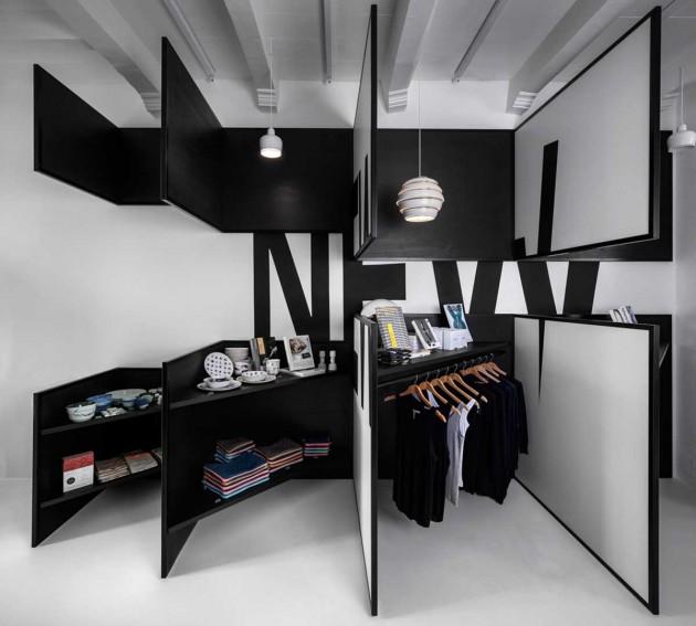 دکوراسیون داخلی مغازه مدرن