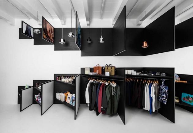 طراحی داخلی فروشگاه،معماری داخلی فروشگاه،دکوراسیون داخلی فروشگاه،طراحی دکوراسَیون فروشگاه لباس