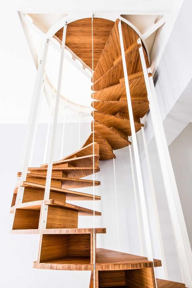 طراحی پله های مارپیچی،پله های مارپیچ
