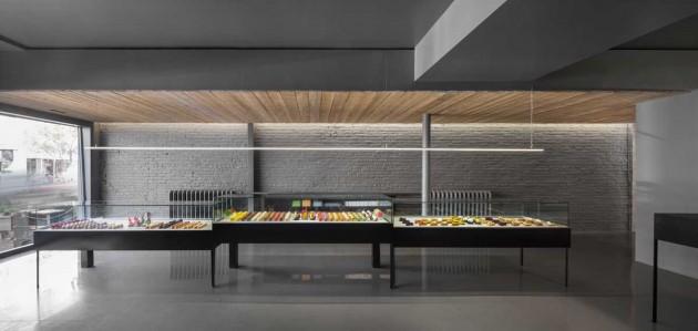طراحی داخلی مغازه،طراحی داخلی شیرینی فروشی،دکوراسیون داخلی فروشگاه