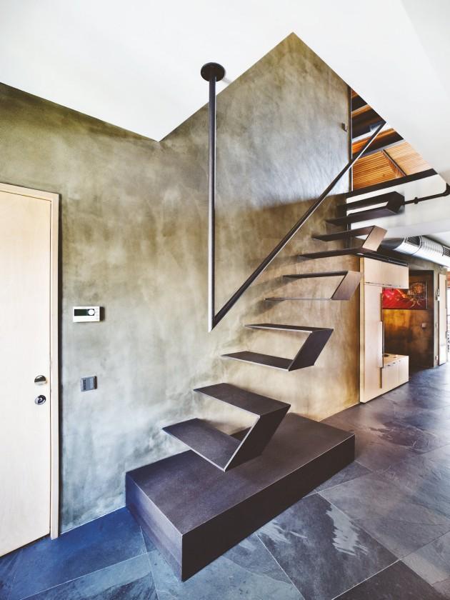 طراحی پله، پله های خلاقانه، طرح پله