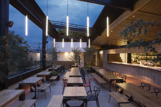 Tdda Designs A Rooftop Bar In Mexico City