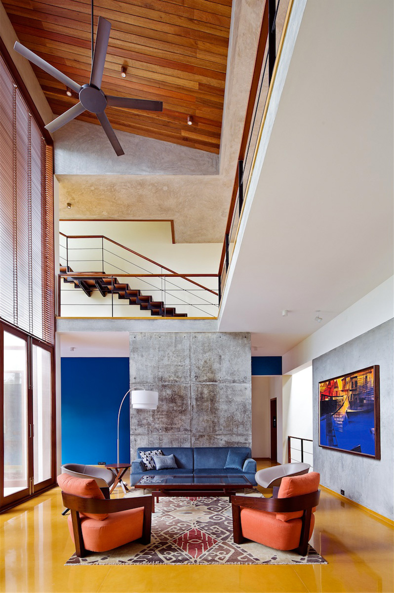 Double Height Windows Bring Natural Light Into This Home In ... on windows house plans, keystone house plans, open concept house plans, design house plans, water house plans, vintage house plans, nature house plans, model house plans, thermal mass house plans, outdoor house plans, view house plans, color house plans, art house plans, bass house plans, kitchen house plans, commercial house plans, landscape house plans, family house plans, snow house plans, underwater house plans,