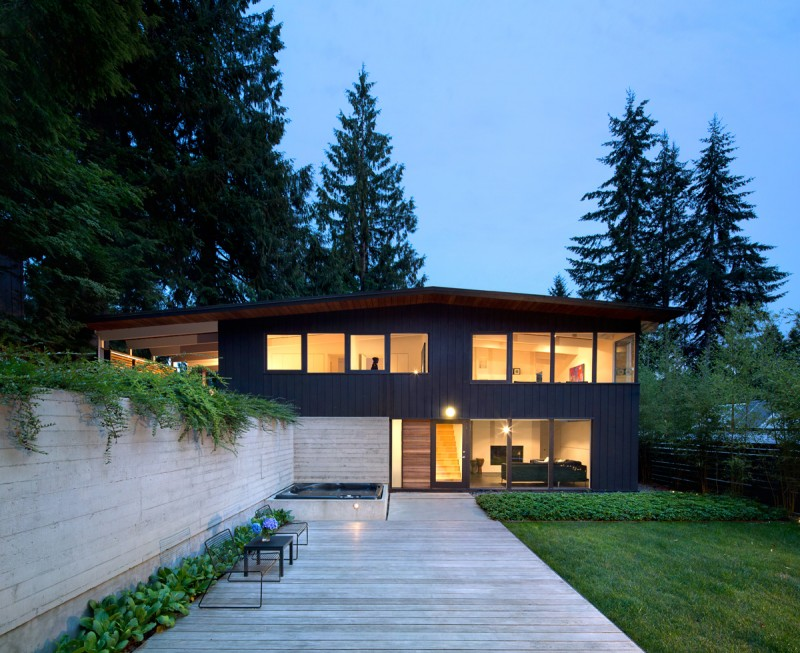 This 1950s post and beam house in Vancouver gets a contemporary ...