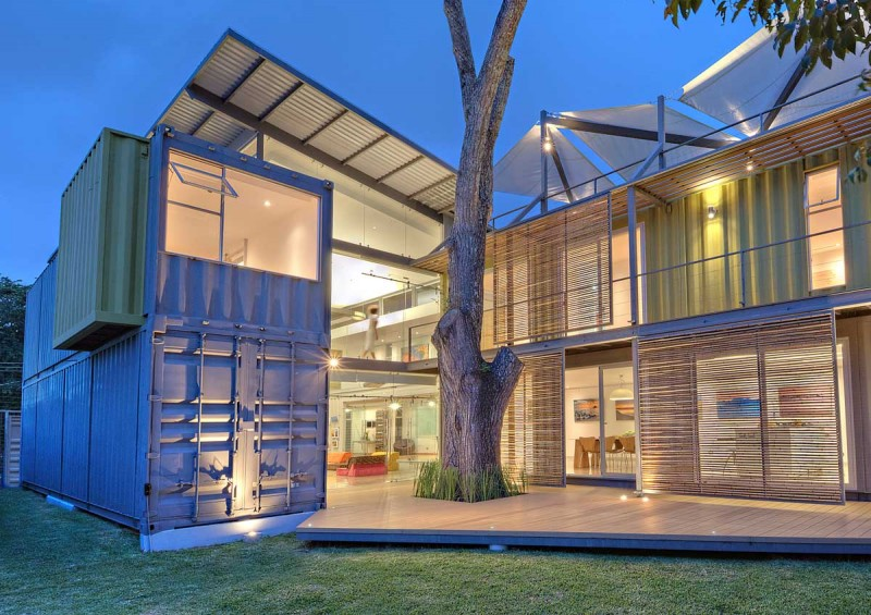 Design A Shipping Container Home. ci 160115 01 Maria Jose Trejos designs a shipping container home in Costa Rica