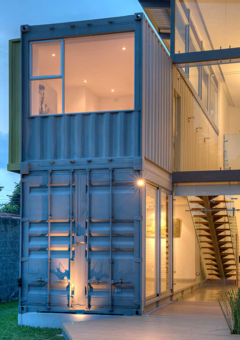 Maria Jose Trejos designs a shipping container home in Costa Rica ...
