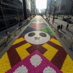 A Huge Carpet Made From Candy Has Been Installed In China