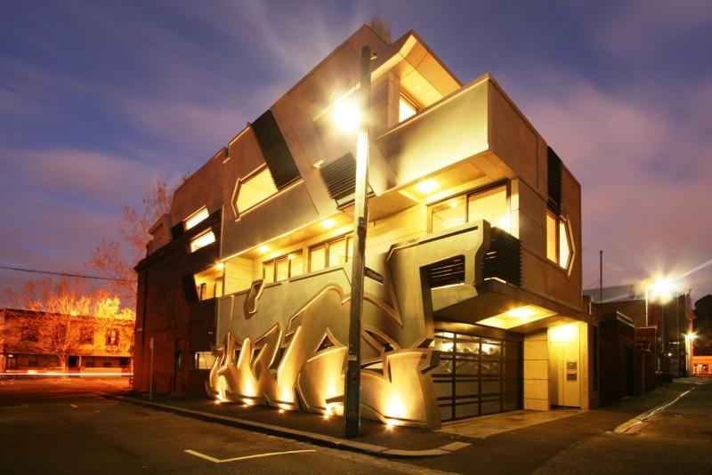 طرح روی دیوار،نمای ساختمان،معماری ساختمان