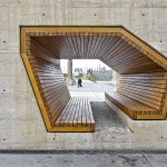 Design Detail: A Tunnel Of Seating With Wood Lining