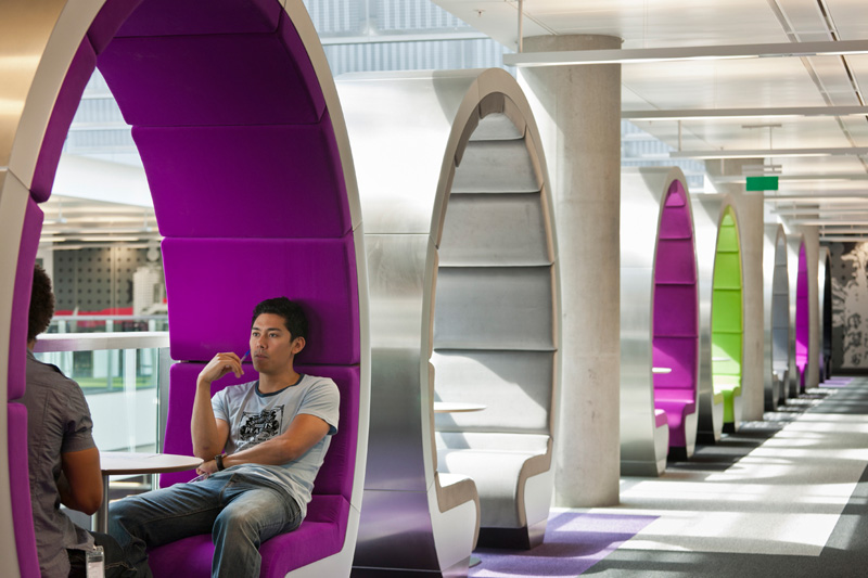 Office Interior Trend: Semi-Private Booths · «