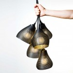 Studio MeraldiRubini create 3D printed pendant lights