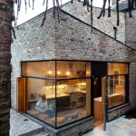 A Contemporary Brick Addition In Traditional Dublin, Ireland
