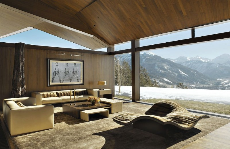 mountain modern in aspen colorado contemporist modern house design concept