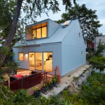 Superkül Design A Small Laneway House In Toronto