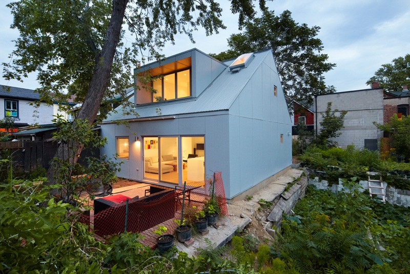 Groovy Superkuel Design A Small Laneway House In Toronto Contemporist Largest Home Design Picture Inspirations Pitcheantrous