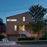 Splyce Design Brings An Asymmetrical Home To The Neighborhood