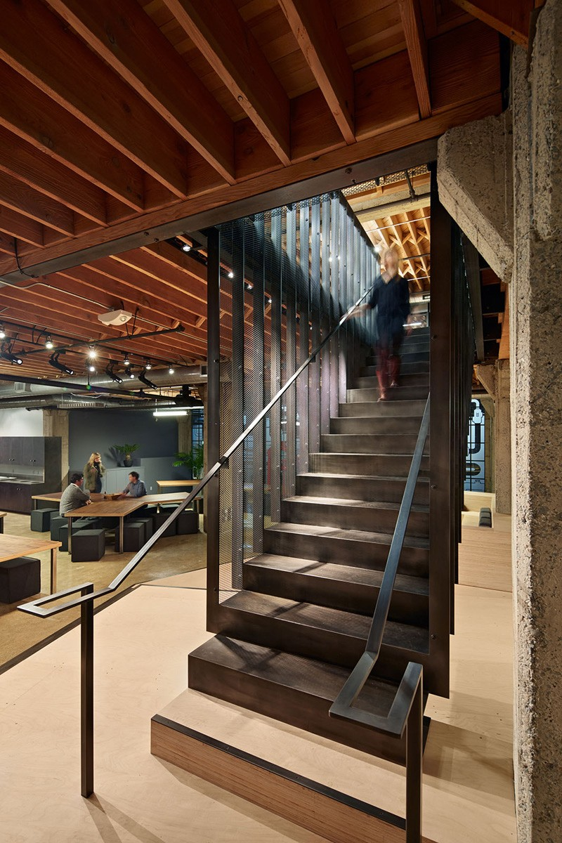 A Warehouse Is Transformed Into Workspace For Heavybit