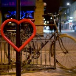 Heart Shaped Bike Racks Installed In London