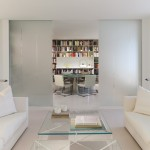 A White Themed Apartment In Washington DC By Jacobsen Architecture