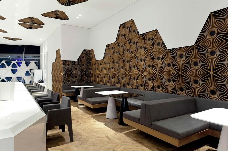 طراحی کافی شاپ، کافی شاپ قهوه ای ، کافه رستوران ، کاف رستوران با مبلمان زیبا