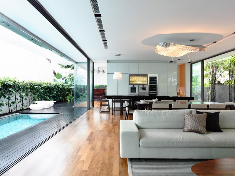 Hyla design a contemporary home for a family in singapore Architecture firm for sale