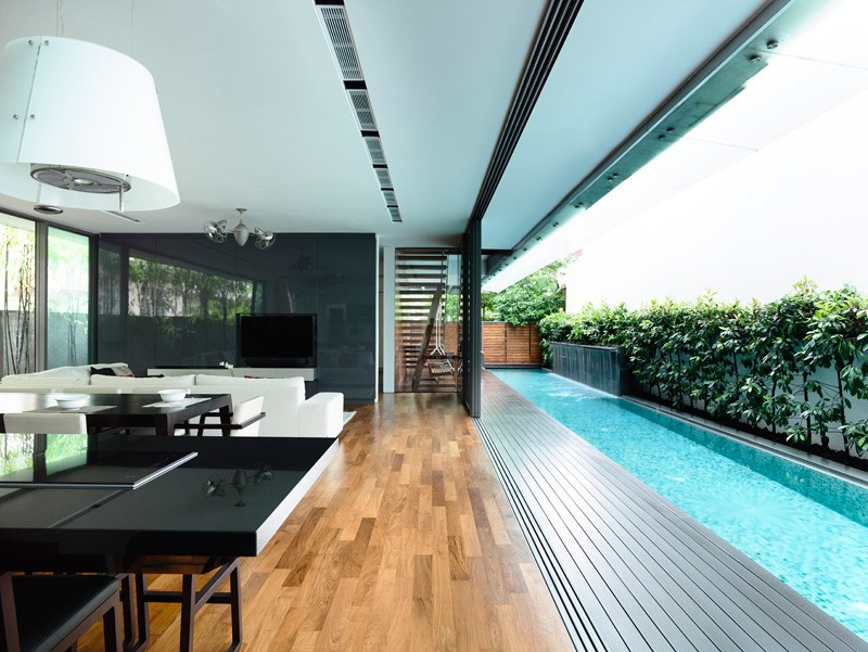 HYLA Design A Contemporary Home For A Family In Singapore ...