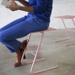 Benjamin Lemarié Has Designed Stools That Slot Together For Easy Storage