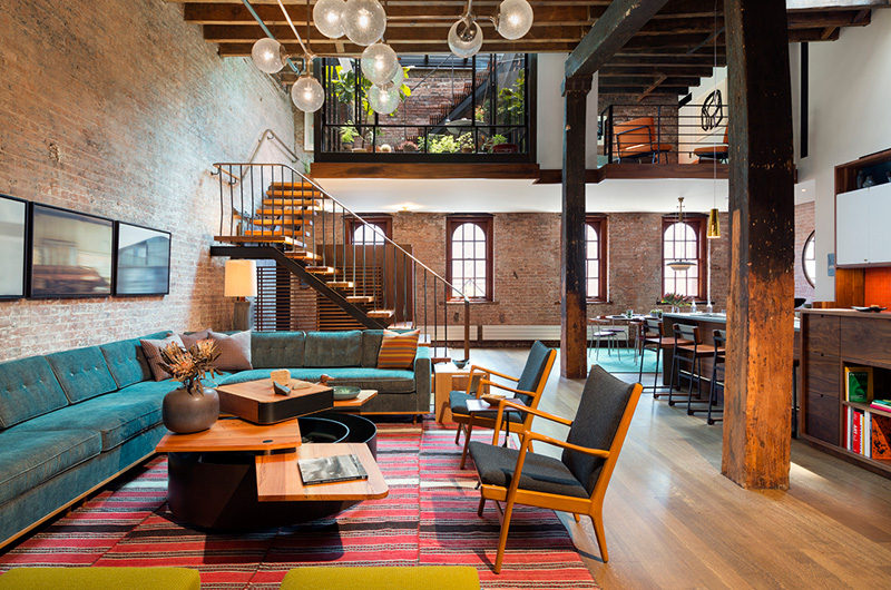 A Caviar Warehouse Converted Into A Loft By Andrew Franz Architect