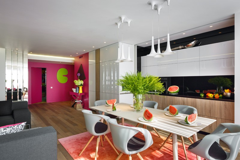 a bright and colorful apartment for a family in russia contemporist